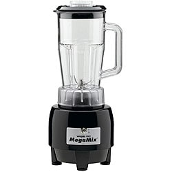 Waring HPB300BK MegaMix Black Commercial Bar Blender
