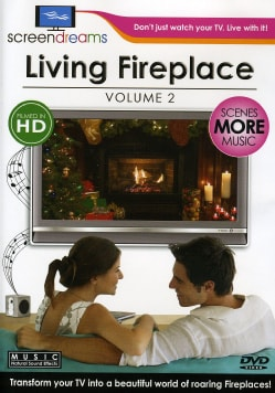 Screen Dreams: Living Fireplace Vol 2 (DVD)