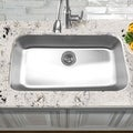 Elongated Single Bowl Kitchen Sink