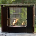 Wesley Indoor/ Outdoor Portable Fireplace