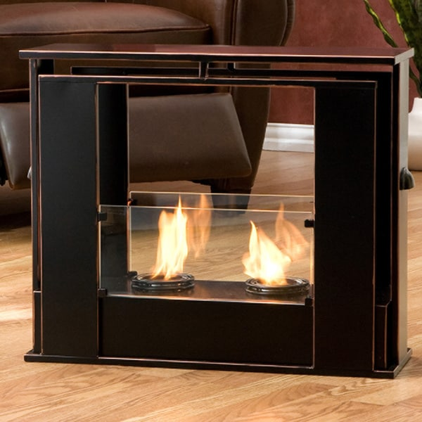 portable fireplace indoor outdoor fire pit camping accent