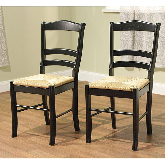 Simple Living Paloma Wooden Dining Chairs (Set of 2) - 12236910 ...