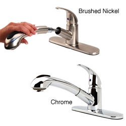 Fontaine Designer Pullout Kitchen Faucet