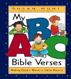 My ABC Bible Verses: Hiding God's Word in Little Hearts (Hardcover)