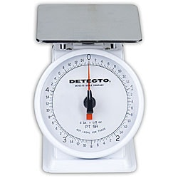 Detecto PT-5R Top Loading Dial Scale