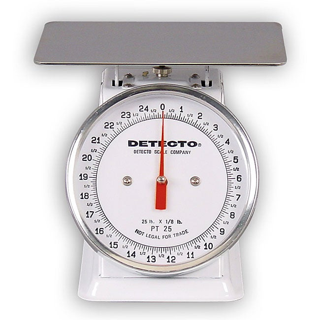 Detecto PT-25 Top Loading Dial Scale
