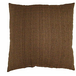 Fiddlestix Brown 16-inch Throw Pillows (Set of 2)