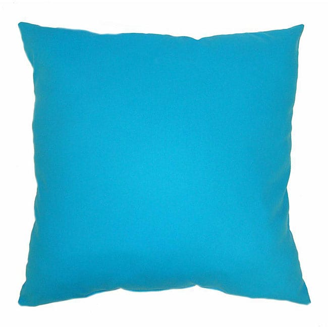 Z-Duck Turquoise 16-inch Throw Pillows (Set of 2)