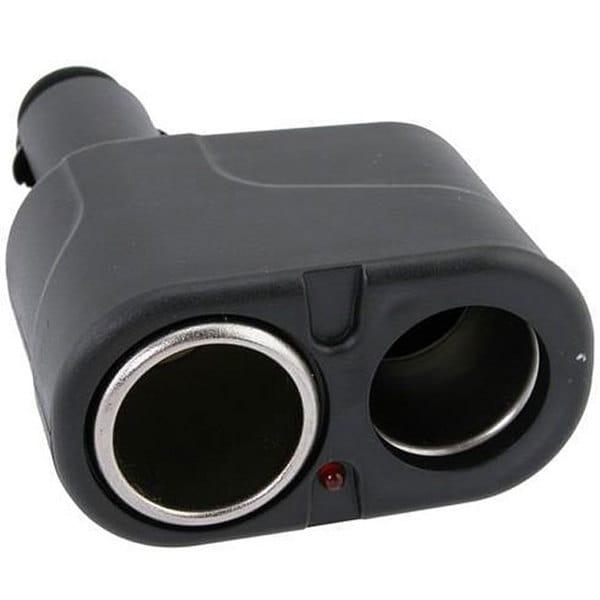 INSTEN Car Cigarette Lighter Socket Splitter Adapter