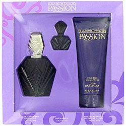 Elizabeth Taylor 'PASSION' Women's 3-piece Gift Fragrance Set