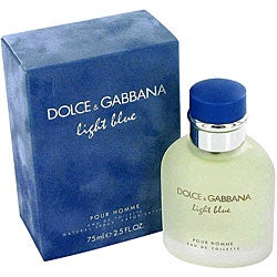 Dolce & Gabbana 'Light Blue' Men's 2.5-ounce Eau de Toilette Spray