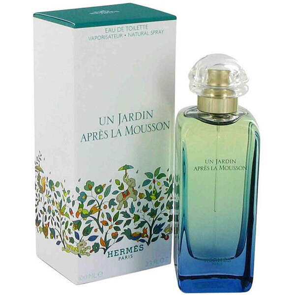 Hermes Un Jardin Apres la Mousson Women's 3.3-ounce Eau de Toilette Spray