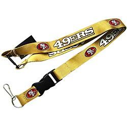 San Francisco 49ers Clip Lanyard