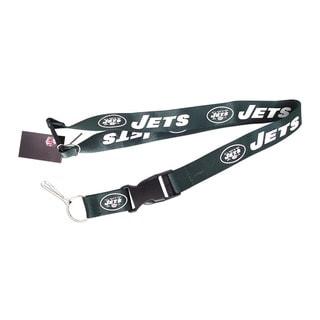 New York Jets Keychain/ ID Holder Clip Lanyard