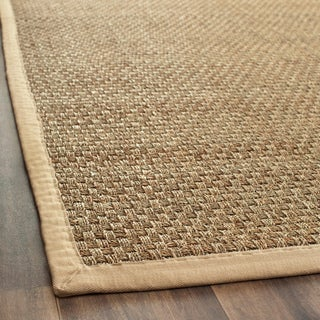 Hand-woven Sisal Natural/ Beige Seagrass Runner (2'6 x 8')