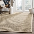 Safavieh Hand-woven Sisal Natural/ Beige Seagrass Rug (3' x 5')