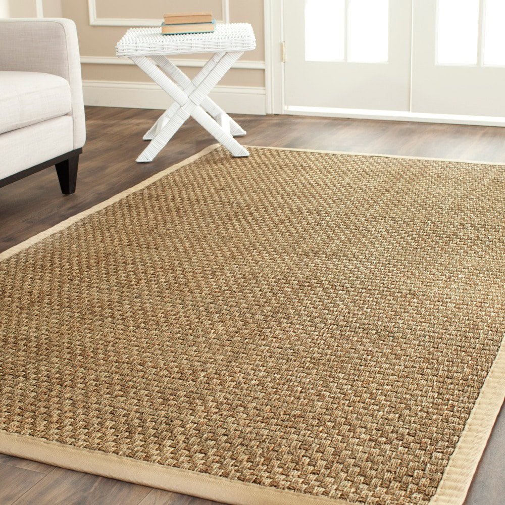 Safavieh Hand Woven Sisal Natural Beige Seagrass Rug 6
