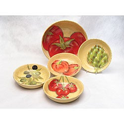 Certified International 'Roma' 5-piece Pasta Set