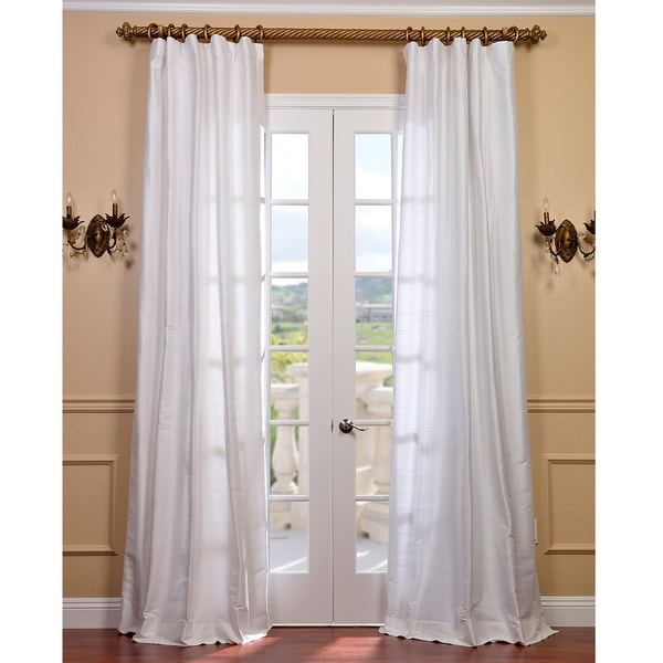 White Frilly Shower Curtain Beige Curtain Panels