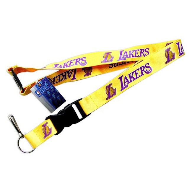 Los Angeles Lakers NBA Clip Lanyard Keychain