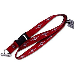 Houston Rockets Clip Lanyard Keychain