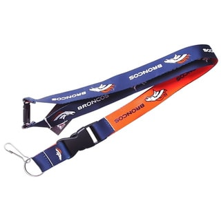 Denver Broncos Lanyard Keychain/ ID Holder