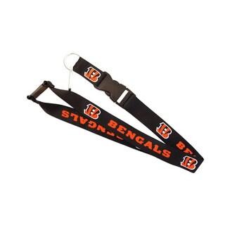Cincinnati Bengals Clip Lanyard Keychain ID Holder