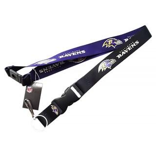 Baltimore Ravens Clip Lanyard Keychain ID Holder