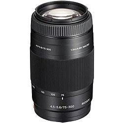 Sony 75-300mm F4.5-5.6 Telephoto Lens