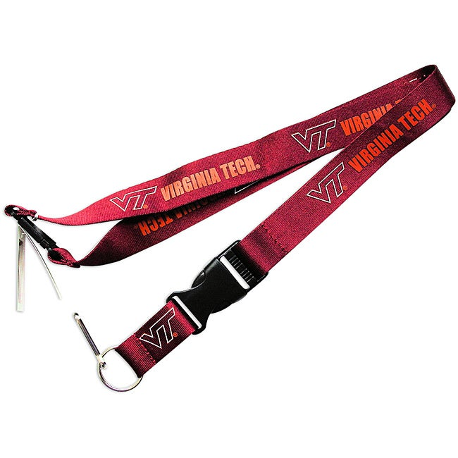 Virginia Tech Hokies Lanyard Keychain/ ID Holder