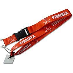 Virginia Cavaliers Lanyard Keychain/ ID Holder