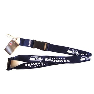 Seattle Seahawks NFL Lanyard Keychain ID Holder