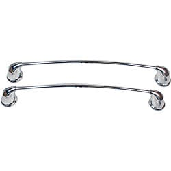 Moen Asceri Two Piece Chrome Towel Bar Set