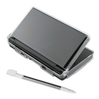Insten Crystal Cover Case and Stylus Pen for Nintendo DS Lite