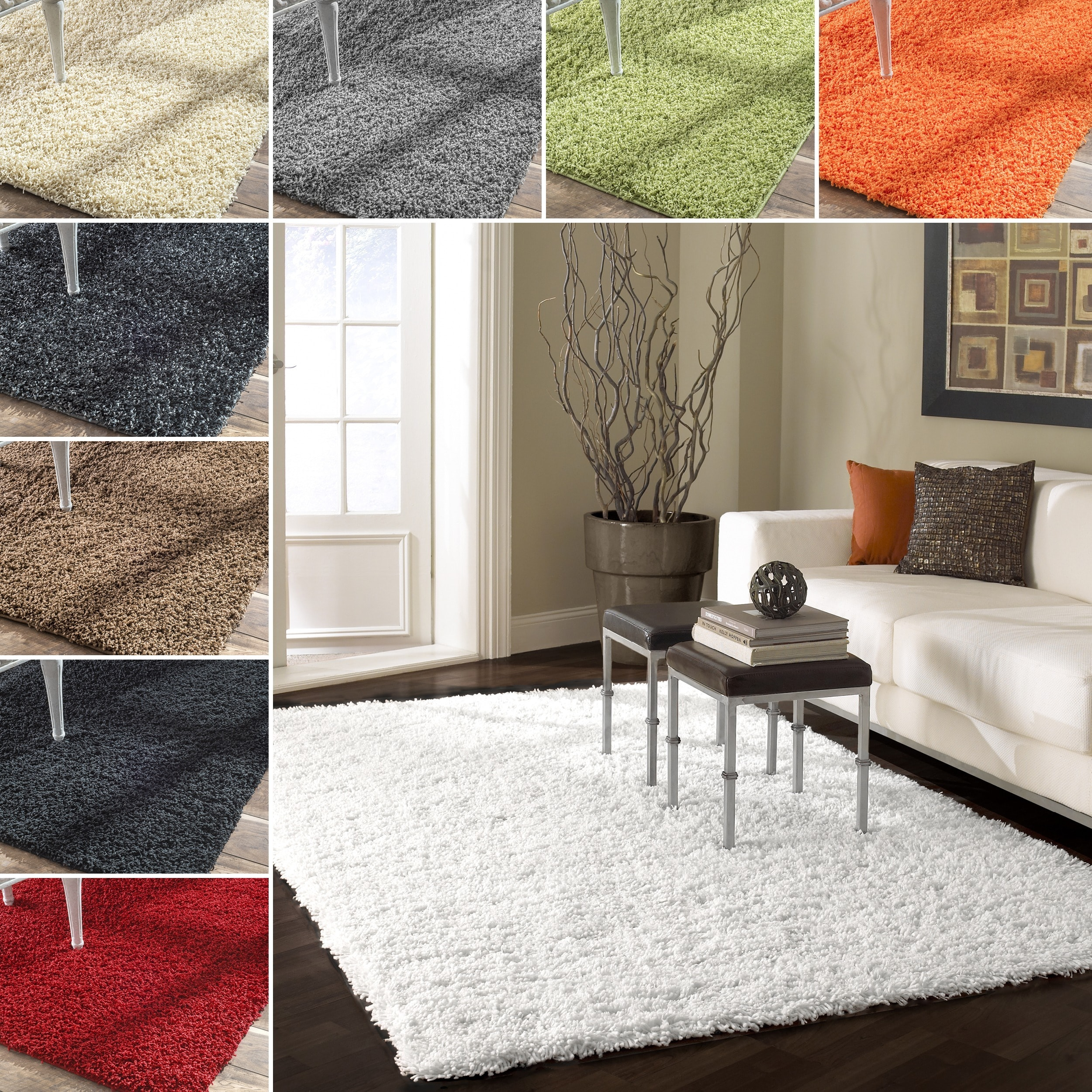 NuLOOM Alexa 'My Soft And Plush' Shag Rug (8' X 10