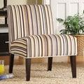 TRIBECCA HOME Decor Striped Print Lounge Chair