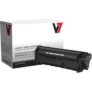 V7 Black Toner Cartridge for Canon Fax L100; FAXPHONE