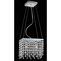 Mini Two-light Crystal Chandelier