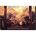 Maxfield Parrish 'Fairy Tale Romance' Canvas Art
