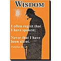 'Wisdom' Canvas Art