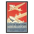 'City of New York Municipal Airport ' Framed Art Print