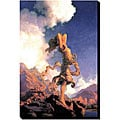 Maxfield Parrish 'Ecstasy' Giclee Gallery-wrapped Canvas Art