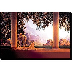 Maxfield Parrish 'Daybreak' Giclee Gallery-wrapped Canvas Art