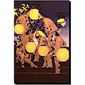 Maxfield Parrish 'Latern Bearers' Canvas Art