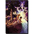 Maxfield Parrish 'Waterfall' Canvas Art