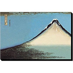 Katsushika Hokusai 'Mount Fuji' Giclee Gallery-wrapped Canvas Art