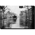 'Rainy Day New York' Gallery-wrapped Canvas Art
