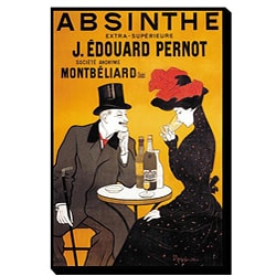 'Absinthe' Giclee Canvas Art