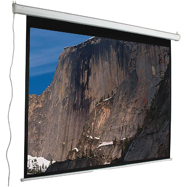 Mustang Electric 120-inch 4:3 Matte White Projector Screen