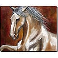 Michelle Moate 'Odyssey in White I' Canvas Art